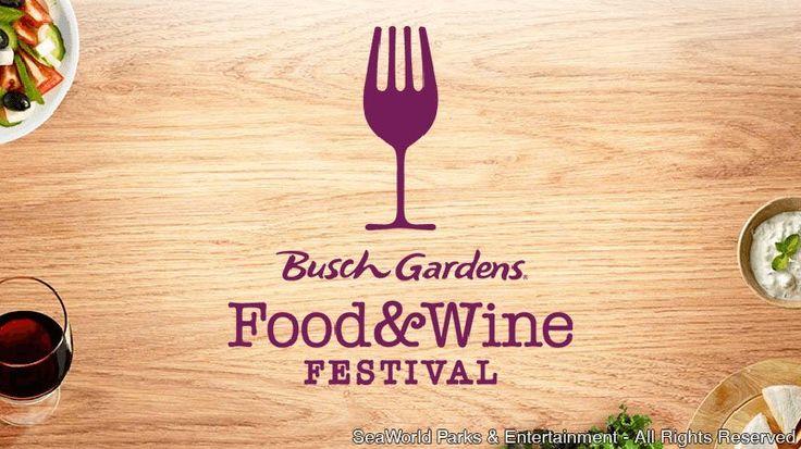 Primeira edição do Food & Wine Festival acontecerá nos fins de semana de março e abril Tampa, FL (Janeiro, 2015) - O Busch Gardens Tampa resolveu adicionar mais sabor à programação de eventos deste ano e anuncia um novo festival gastronômico durante a primavera...