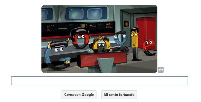 Google celebra la serie classica di Star Trek