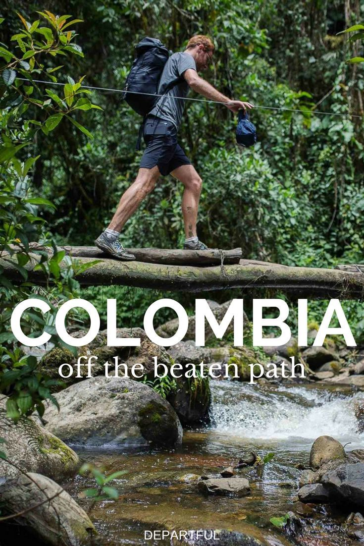 A Colombia travel guide exploring the outstanding nature such as National Parks Tayrona and Los Nevados.