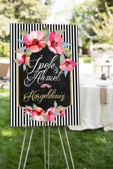 Miss 70x100 cm Düğün, Nişan, Kına Karşılama Panosu