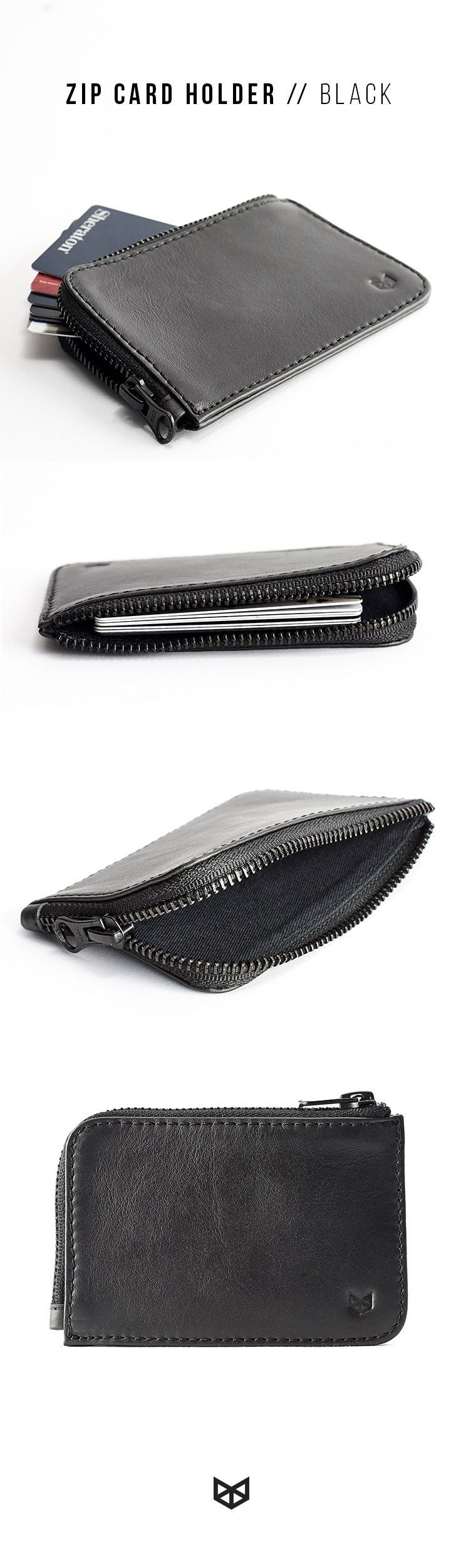 If you are looking for a valentine's mens gifts, this zip leather card holder made by hand is the perfect accessory to give to your boyfriend or to that special someone. Make it a special gift engraving initials or a full name on it.
