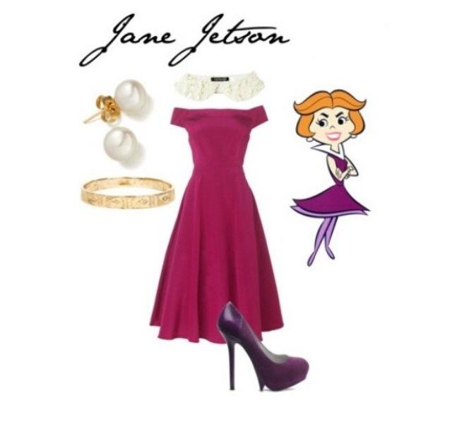 Jane Jetson The Jetsons Fancy Dress Costume Halloween
