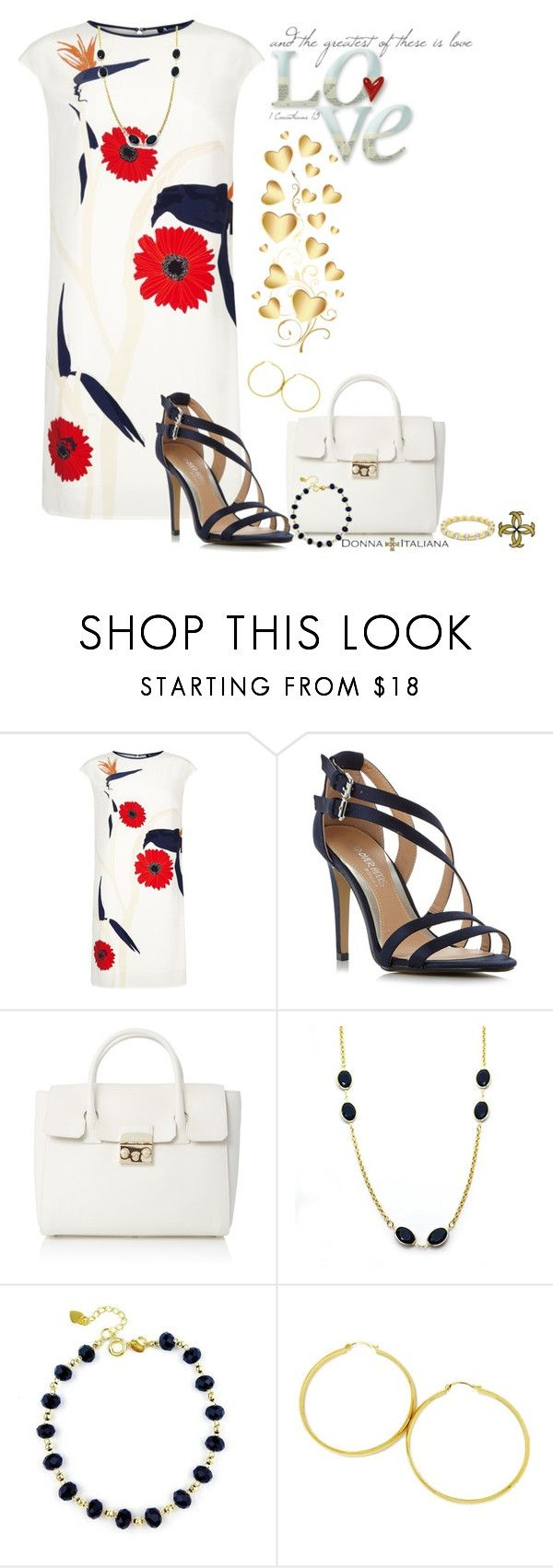 """""""Greatest Gift"""" by freida-adams ❤ liked on Polyvore featuring Aquascutum, Head Over Heels and Furla"""