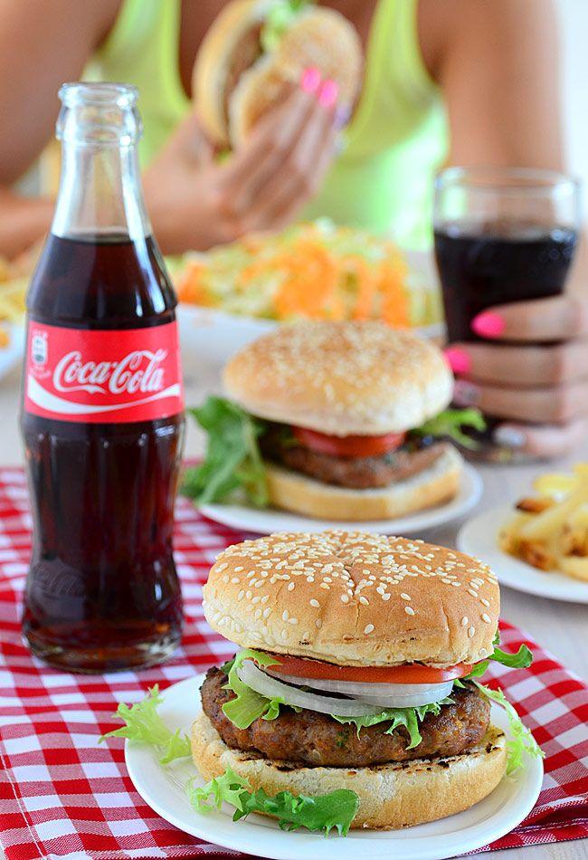 Burgery drobiowe - pyszne i kolorowe :)