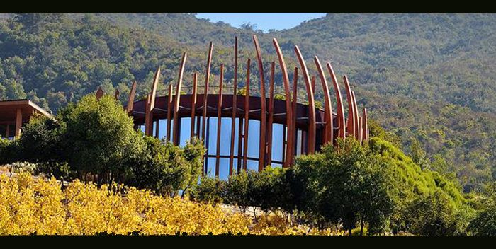 Lapostolle Residences - Casa Lapostolle perched on the hillside of Apalta. #Colchagua