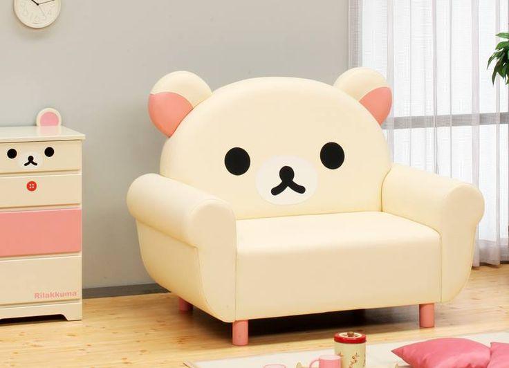 I need this #Rilakkuma chair!