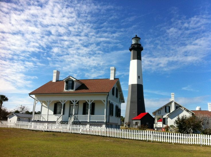 Tybee Island is only about a 20-minute drive from Savannah and is home to the Tybee Island Light Station and Museum, a 270-year-old site where you can visit historic buildings and see what it was really like to live on the property in 1732. The view from the top* is worth the $9 entrance price ($7 for children ages 6-17, seniors, and military members—free for Coast Guard members with a valid ID).