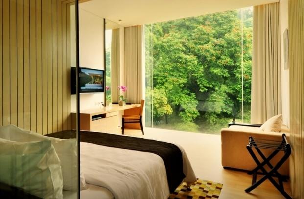 One of the hotel rooms at Padma, Bandung