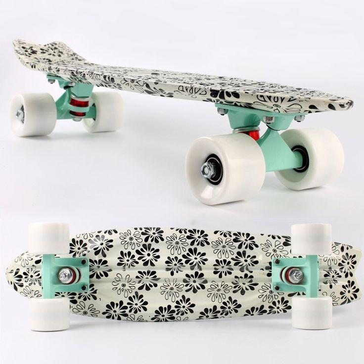 2015 New Design 4 Wheels Skateboard Plastic Fish Board - Buy ...