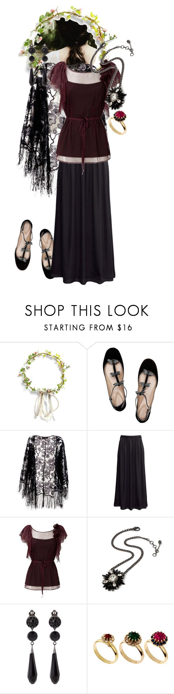 """""""Reign 8"""" by werewolf-gurl ❤ liked on Polyvore featuring Chloé, Pussycat, H&M, Oasis, Amrita Singh, Givenchy and ASOS"""