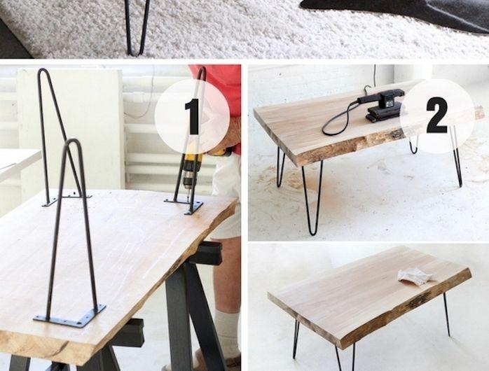 1001 Tutos Et Idees Top Pour Fabriquer Une Table Basse