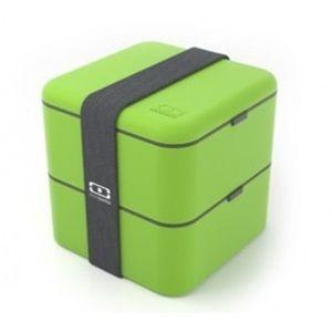 Monbento velký svačinový box duo, zelený