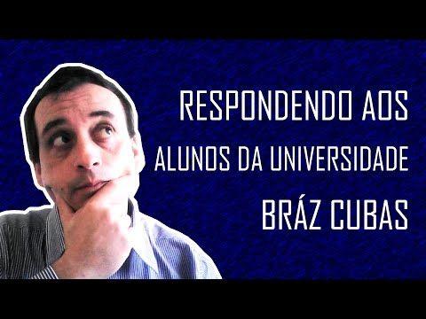 Respondendo aos alunos da Universidade Bráz Cubas - YouTube