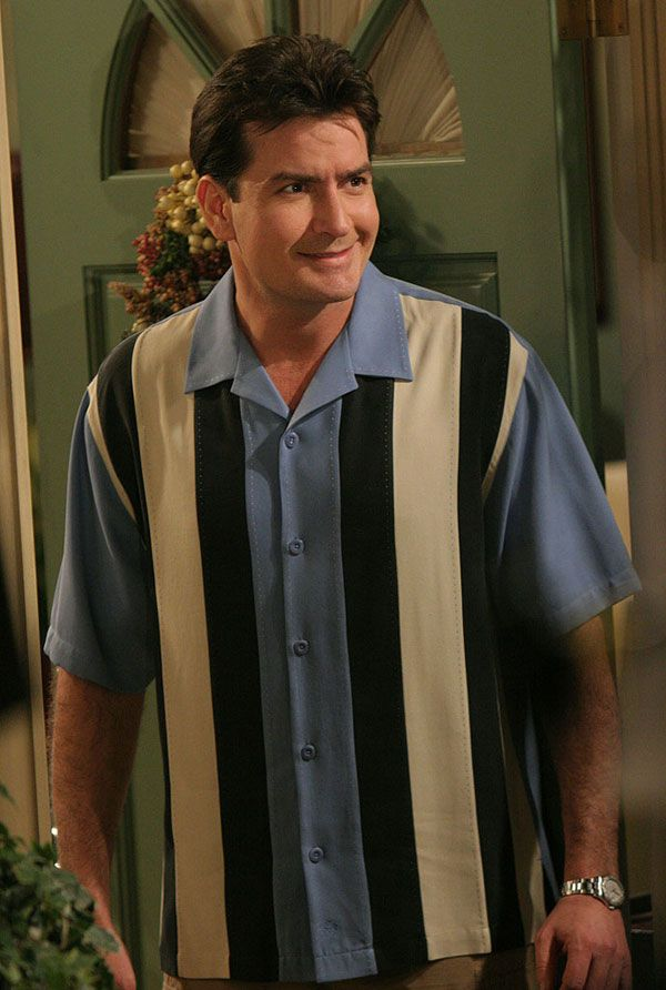 "Charlie Sheen, ""Two and a Half Men"""