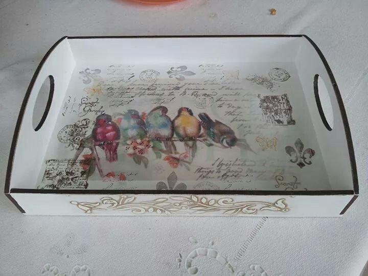 @Bird Tray