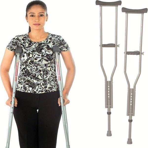 Under Arm Auxilliary Crutches. #PainCare #Mywedjat #MywedjatPainCare #WalkingAids #PatientCare