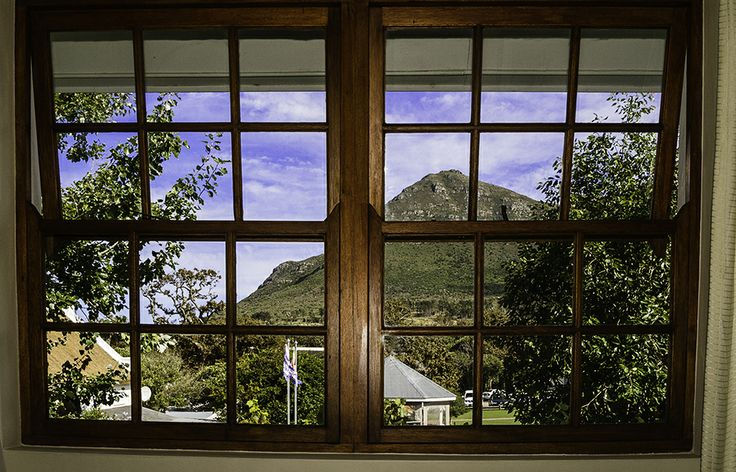 View of the mountain from the Upstairs Bedrooms.  De Noordhoek Hotel   Noordhoek Farm Village   Noordhoek   Cape Town  http://www.capepointroute.co.za/moreinfoAccommodation.php?aID=163