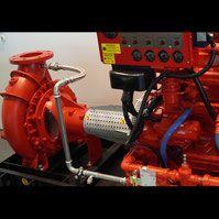 pompa pożarowa instalacji tryskaczowej diesel