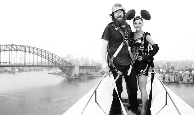 Natalie Imbruglia on the Sydney Opera House    Photographer: Chris Searl