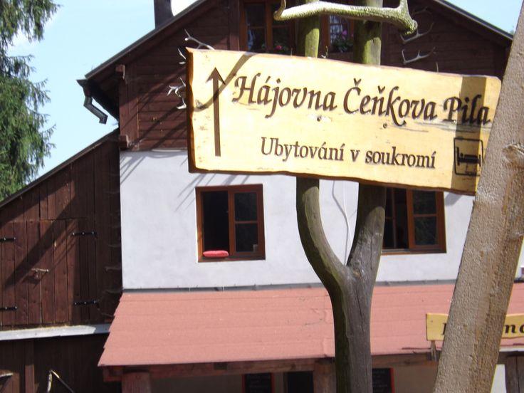 Zastávka na Čeňkově Pile
