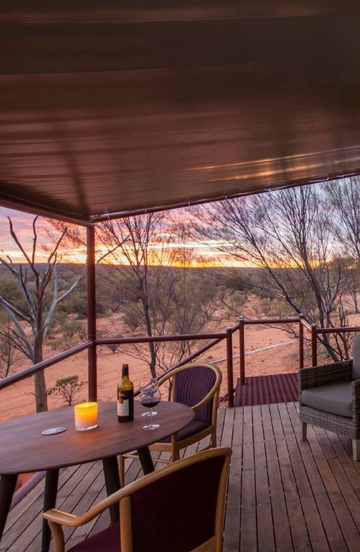 Secluded Luxury C&ing Tent with Escarpment View in Kings Canyon Australia & Secluded Luxury Camping Tent with Escarpment View in Kings Canyon ...
