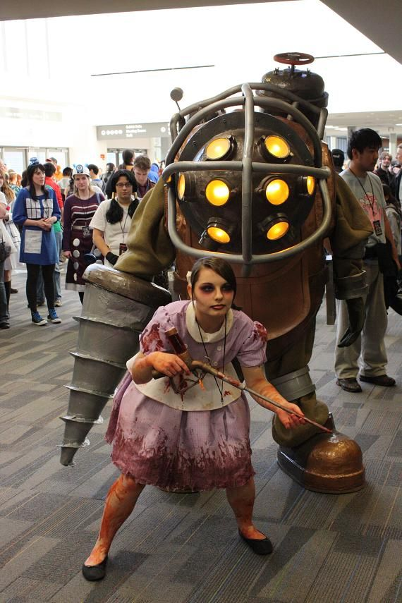 Big Daddy With Little Sister Little Sister Cosplay