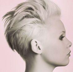 Summer crop #shorthair #blonde