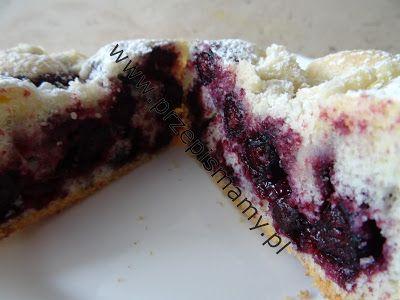 www.przepismamy.pl: Ciasto ucierane z jagodami