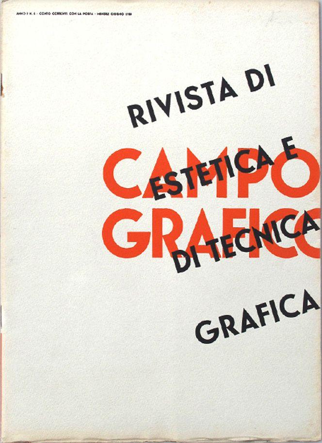 Campo Grafico Nº.6 - Unknown, June 1933