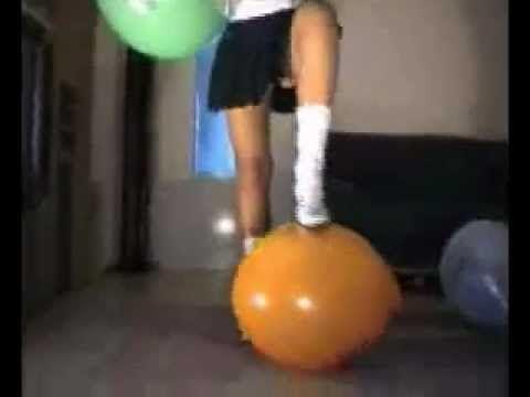 Balloons free fetish