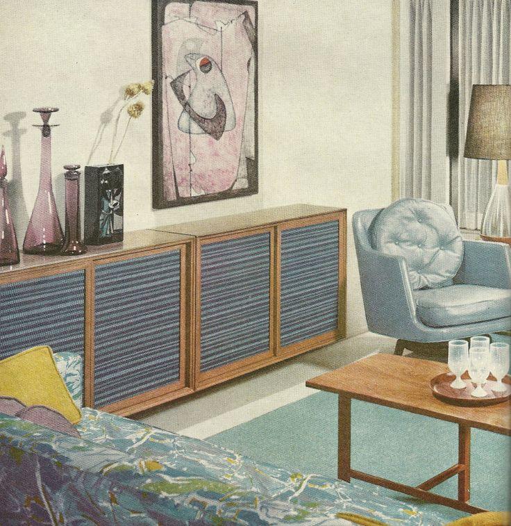 9 Best Mid Century Modern Carports Images On Pinterest: 254 Best Original Vintage Midcentury Interior Design