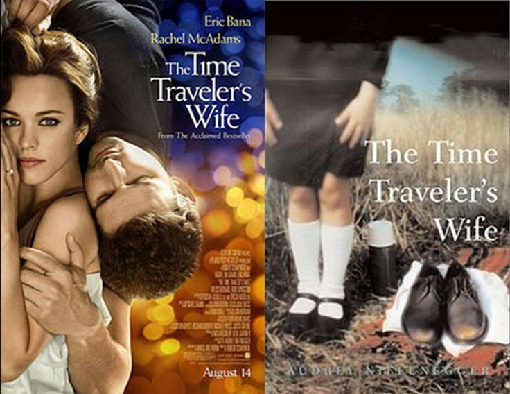 What book should I compare with 'The Time Traveler's Wife' for English?
