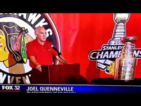 JOEL QUENNEVILLE & PATRICK KANE REACT TO THE BRANDON SAAD TRADE