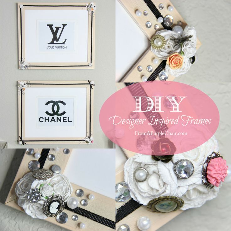 Designer Inspired Home Decor Part - 28: DIY - Designer Inspired Frames