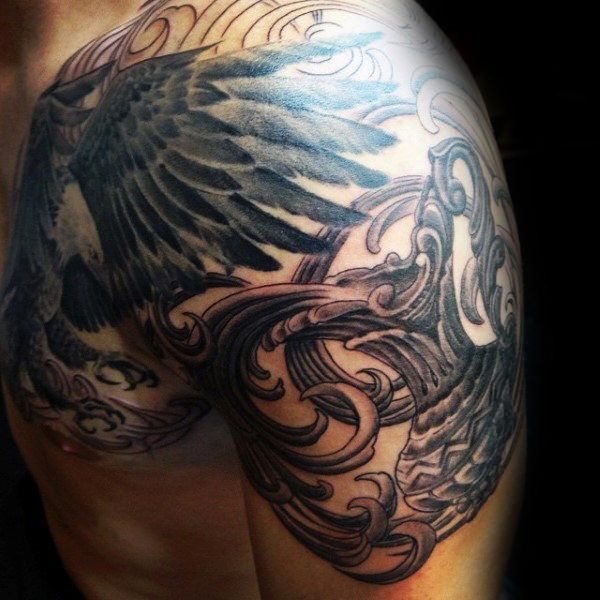 Top 67 Aquarius Tattoo Ideas 2020 Inspiration Guide Aquarius Tattoo Polynesian Tattoo Zodiac Signs Aquarius