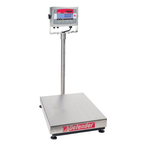 Digital Bench Scale, SS Pltfrm, 150 lb Cap. <b>Price For:</b> Each <b>Digital/Mechanical</b>: Digital <b>Scale Display</b>: LCD <b>Includes</b>: Rubber Levelling Feet, Visible Level Indicator <b>Application Modes</b>: Weighing (5 Units), Basic Parts Counting <b>Power Unit</b>: 100-240VAC, 50 to 60 Hz Internal Switching Power Supply with Internal Rechargeable Sealed Lead Acid Battery <b>Standards</b>: EMC EN60950, EN61326, FCC, Class A, CE (AC Adapter), cULus, ISO 9001:2008 <b>Scale...