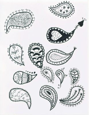 how to draw a paisley - Google Search