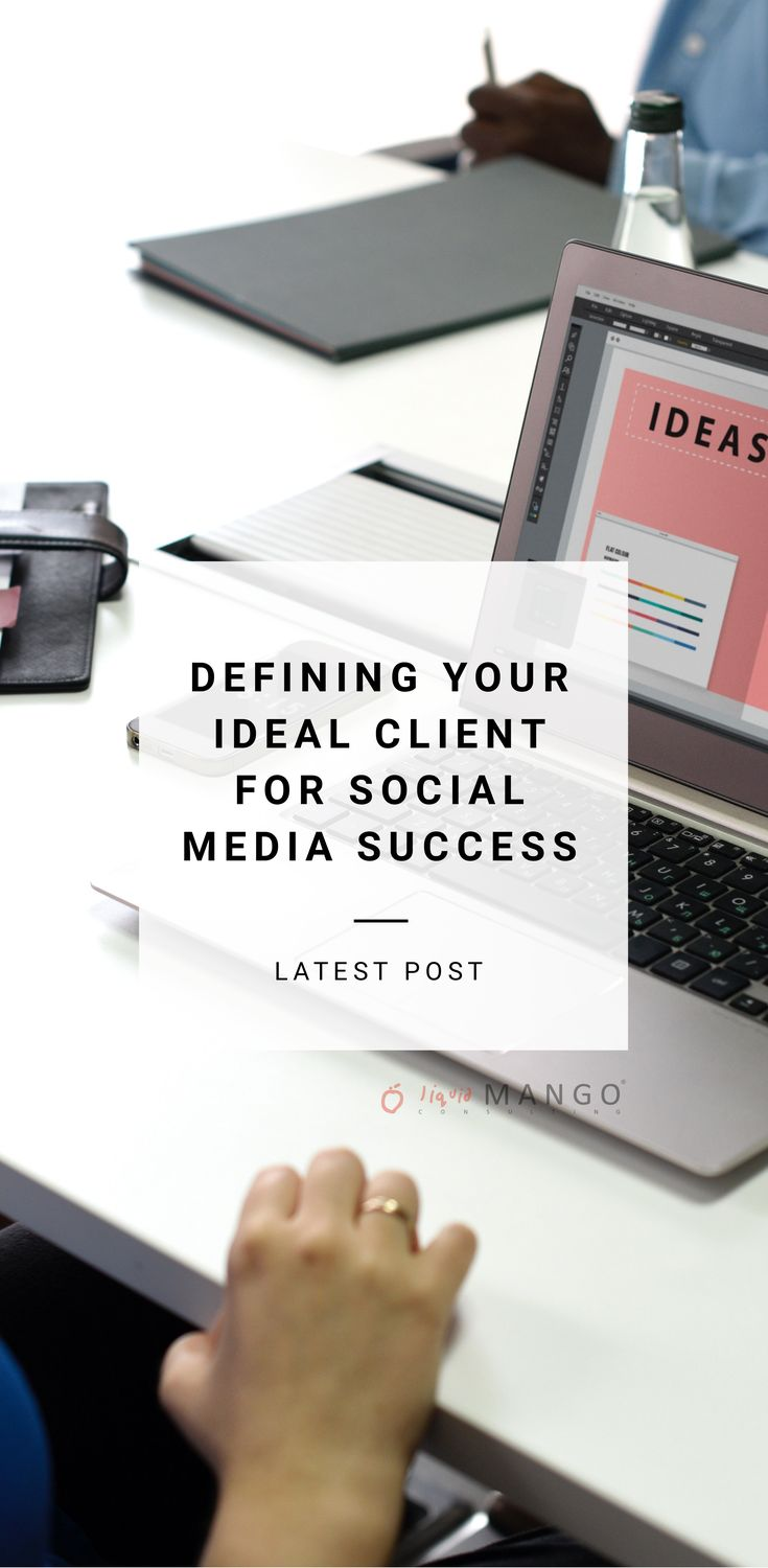 Before you develop your social media strategy and post anything on online, it's essential that you know who your ideal client is so you can give them extraordinary value and deliver a personalised customer experience. Defining your ideal client is essential for social media success.