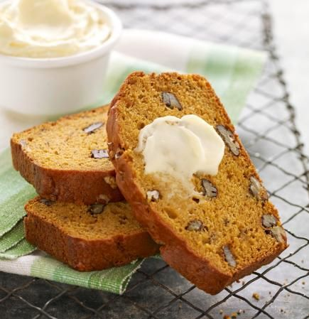 """Pumpkin-Banana Bread: Lisa Johnson of Gardner, Kansas, added banana to pumpkin bread for a new twist on this quintessential fall treat. """"This pumpkin bread is a favorite with our family,"""" she says. """"It's easy to make, and my two girls enjoy helping me."""""""