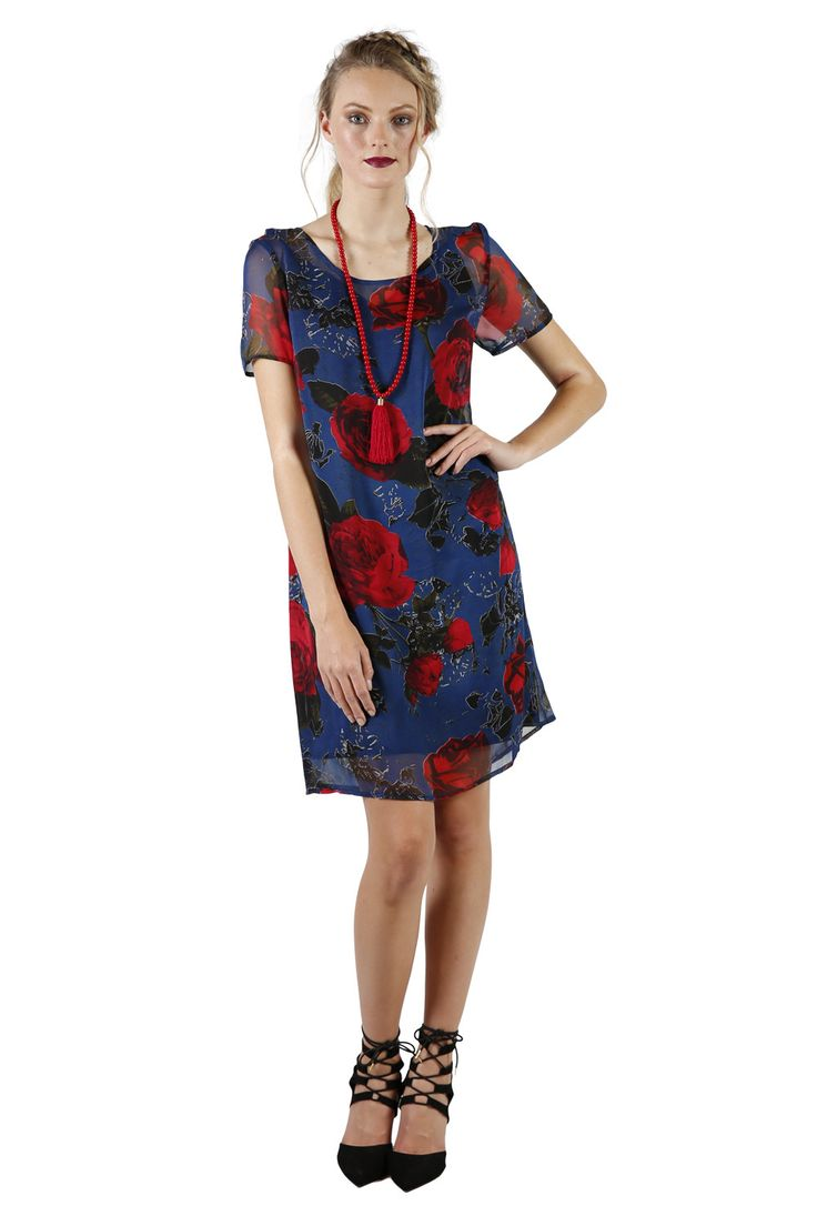 Annah Stretton | Floral Shift Dresses | Designer Fashion