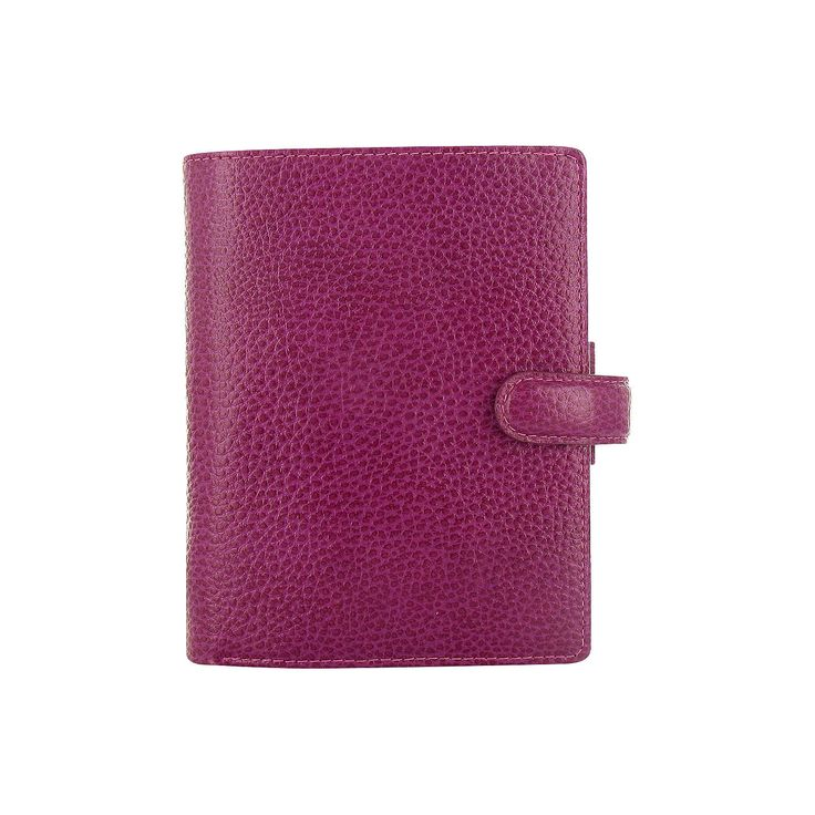 BuyFilofax Finsbury Leather Pocket Organiser, Raspberry Online at johnlewis.com