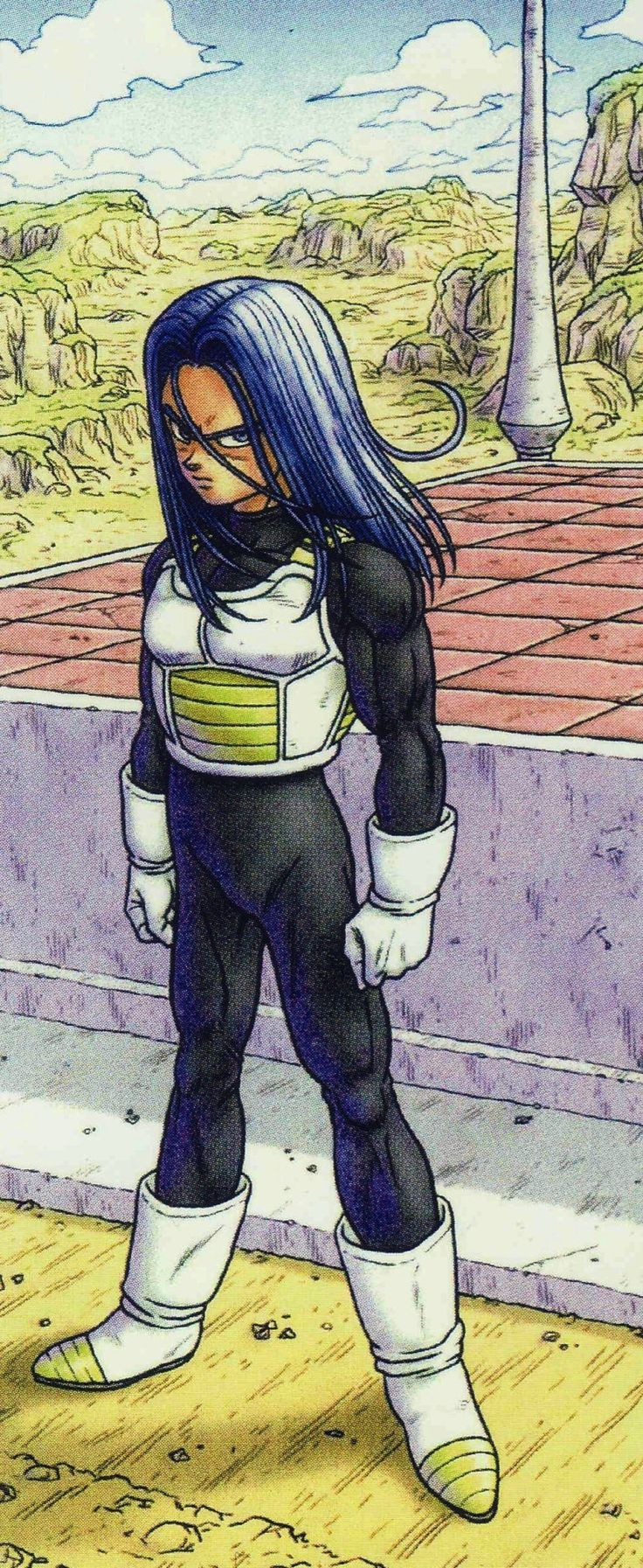 "jinzuhikari: "" Mirai Trunks : artwork (2006) by Akira Toriyama , scan from CHOGASHU , DRAGON BALL ARTBOOK (2013) - source : personal collection. """