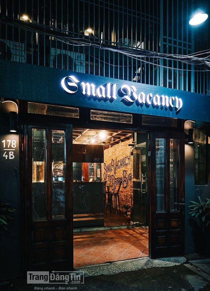 Cần sang nhượng Nhà hàng Small Vacancy Lounge & Dining
