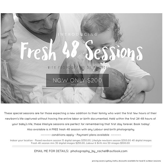 family photography and newborn photography, Sydney photographer | Fresh 48 photography session