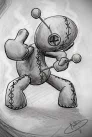 voodoo doll tattoo - Google Search