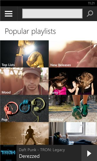 Spotify para Windows Phone introduce Radio y las características para navegar y descubrir nueva música