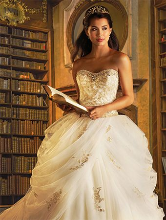 Alfred Angelo Belle Bridal Style 254 from Disney Fairy Tale Bridal