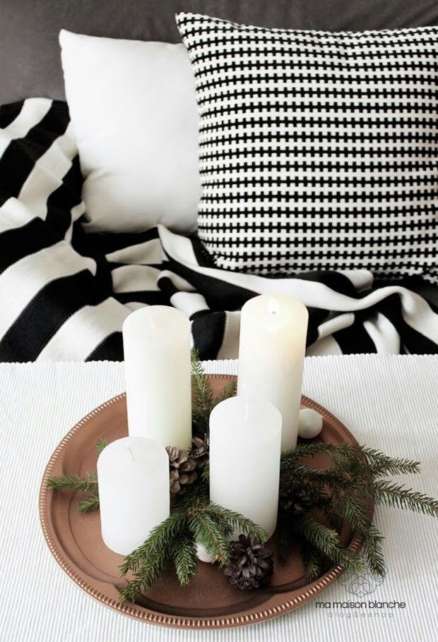 Our DIY advent candlestick