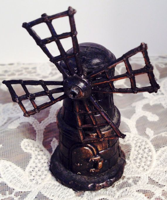 Vintage miniature die cast windmill pencil by MySweetMadison
