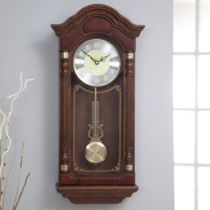Traditional Wall Clock by Seiko - 12.5 Inches Wide - QXH004BLH